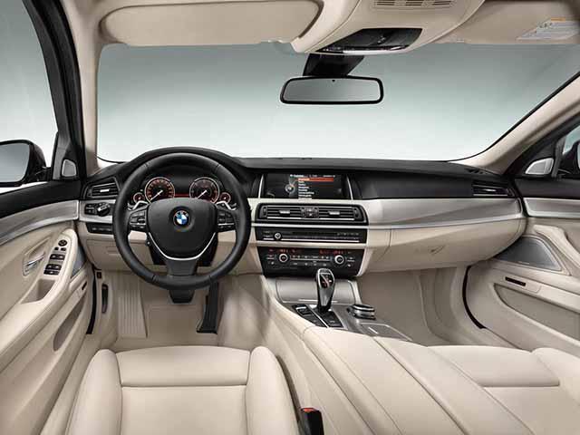 BMW 5 Interior
