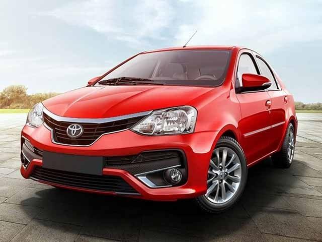 Toyota Etios Red