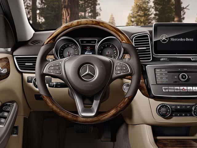 Mercedes GLE  steering wheel