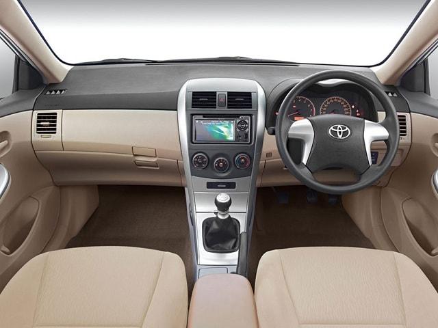 Toyota Corolla steering wheel
