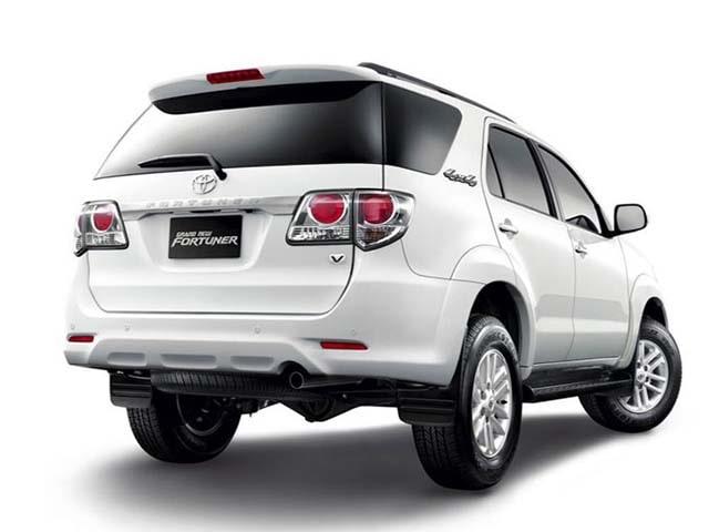 Toyota Fortuner Backview