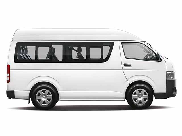 Toyota Hiace Side View