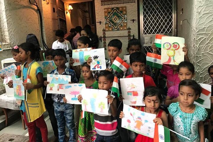 Smile Travels CSR- Independence Day Celebration 2018