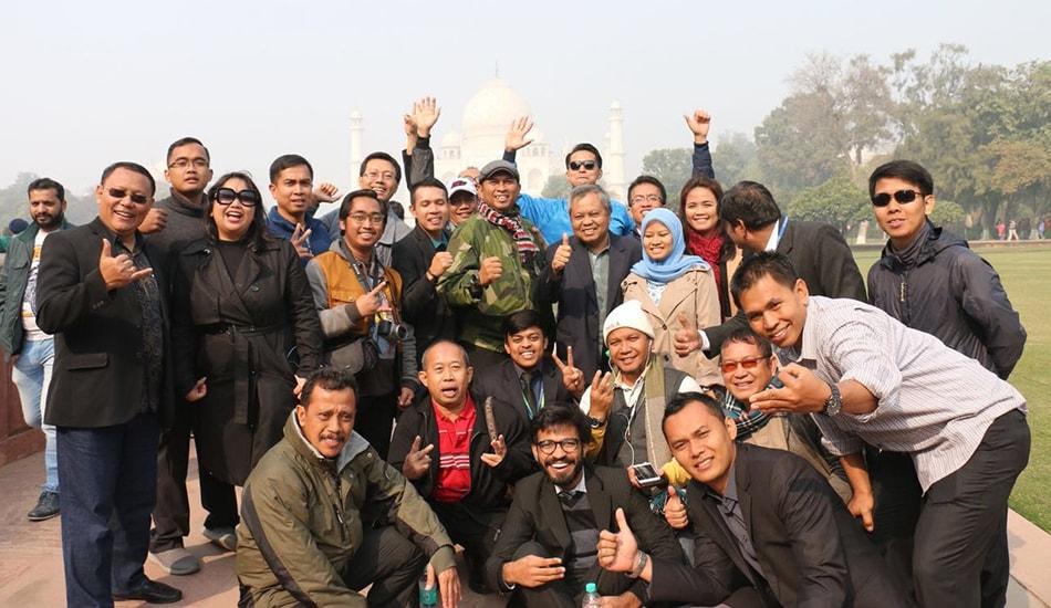 Indonesia Delegation Taj Mahal Trip- Smile Travels