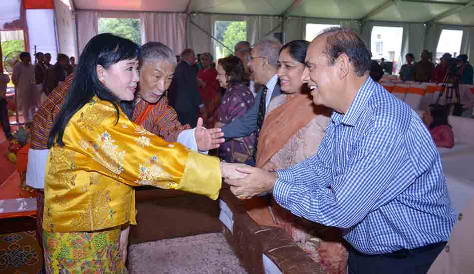 Meeting Sangay Choden