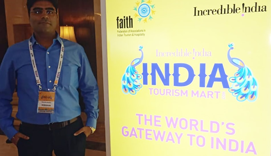 Smile Travels- Visit to India Tourism Mart 2018