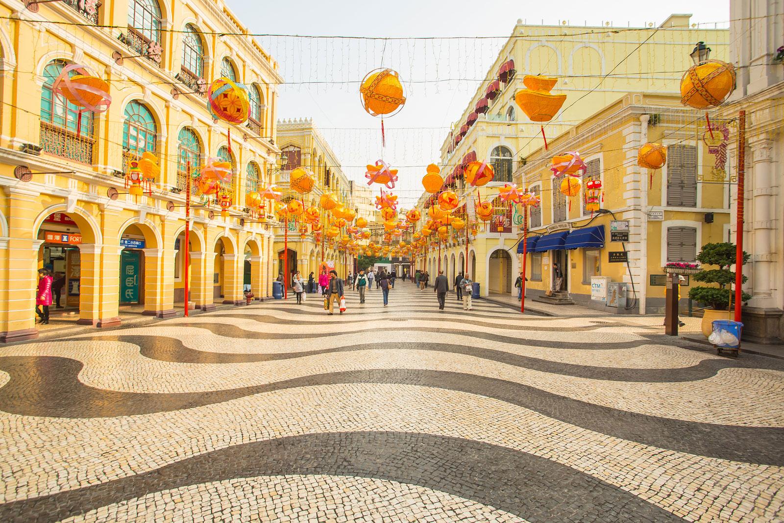 Macau and Hong Kong
