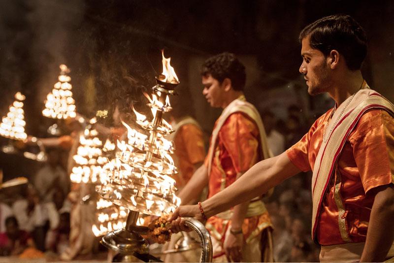 Evening aarti Varanasi