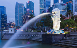 Singapore and Malaysia - Singapore/Merlion